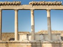 Pergamon-Akropolis royalty-vrije stock foto