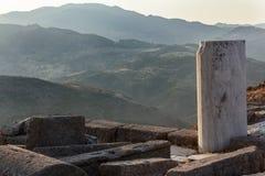 Pergamon-Akropolis Izmir Turkije stock afbeelding