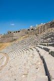 Pergamon Amphiteater. Pergamon Amphitheater in Aegean Turkey Royalty Free Stock Photo