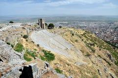 Pergamon amphitheater. Stock Photo
