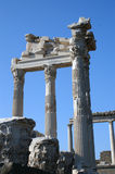 Pergamon column2 Lizenzfreies Stockfoto