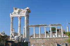 Pergamon column3 Stock Afbeeldingen