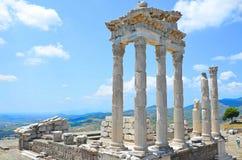 Pergamon en bergama-Ä°zmir Turkije royalty-vrije stock afbeeldingen