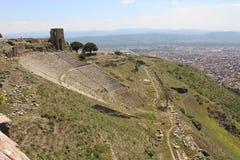 Pergamon-Freilichtmuseum von der T?rkei stockfoto