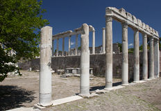 Pergamon, Izmir, Turkije Royalty-vrije Stock Afbeeldingen
