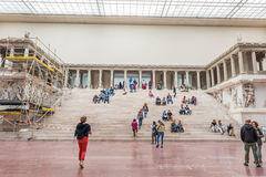 Pergamon Museum in Berlin Stock Photo