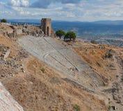 pergamon teater Royaltyfri Foto