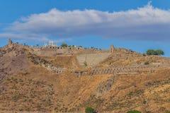 pergamon teater Arkivbild