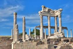 Pergamon temple. In izmir bergama Stock Image
