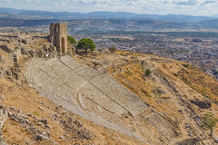 Pergamon-Theater Lizenzfreie Stockbilder
