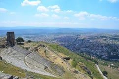 Pergamon and Bergama-İzmir Turkey royalty free stock photos