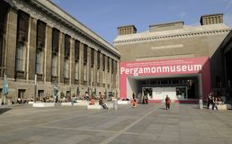 Pergamonmuseum en Berlín Imagen de archivo