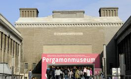 Pergamonmuseum en Berlín Foto de archivo