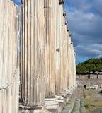 pergamum Ρωμαίος asklepion Στοκ Φωτογραφία