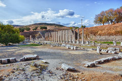 pergamum Ρωμαίος asklepion Στοκ εικόνες με δικαίωμα ελεύθερης χρήσης