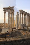 pergamum 3 fördärvar Royaltyfria Bilder