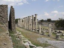 Pergamum Asklepion  库存图片