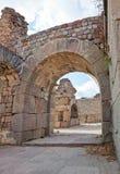 Pergamum - Asklepion romanos foto de stock