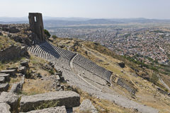 Pergamum-Turkey Stock Photography