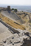 Pergamum-Turkiet Arkivfoto