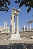 Pergamum-Turkiet Arkivfoton