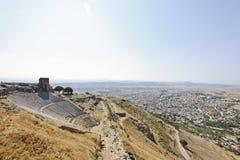 Pergamum-Turkiet Royaltyfri Bild