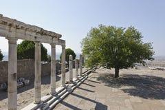 Pergamum-Turquía Foto de archivo libre de regalías