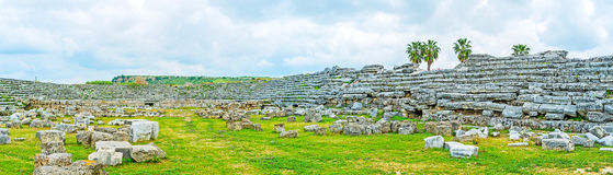 On Perge arena Stock Image