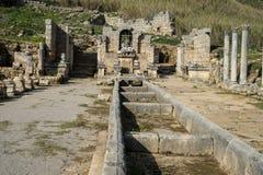 Perge i Turkiet Arkivfoton