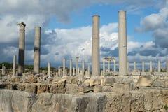 Perge i Turkiet Arkivbilder