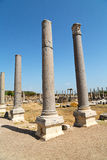 Perge old construction roman temple Royalty Free Stock Images