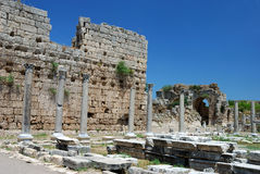 Perge, Turkey Royalty Free Stock Images