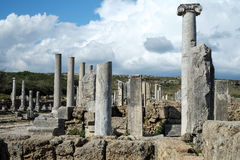 Perge in Turkey Stock Photo