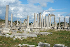 Perge in Turkey Stock Photos