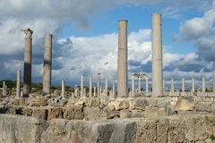 Perge in Turkey Stock Images