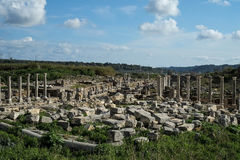 Perge in Turkey Royalty Free Stock Photos