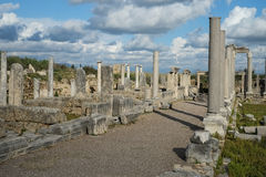 Perge in Turkey Royalty Free Stock Photography
