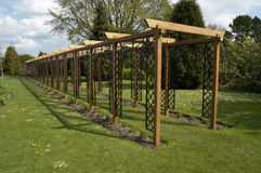 Pergola royalty free stock photography