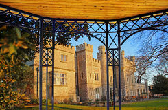 Pergola castle view Stock Photography
