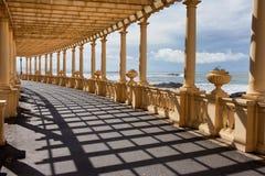 Pergola da Foz in Porto. Promenade along the Atlantic Ocean coast in Portugal Stock Photos