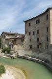 Pergola (gränser, Italien) Arkivbild