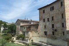 Pergola (Marsen, Italië) Stock Foto's