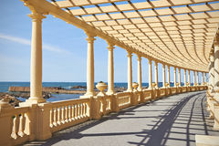 Pergola in Porto, Portugal Stock Photo