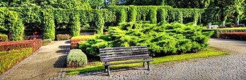 Pergola nel giardino Fotografie Stock Libere da Diritti