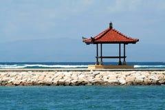 Pergola in Oceano Indiano Fotografie Stock Libere da Diritti