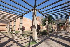 Pergola in Rabat, Morocco Stock Photography