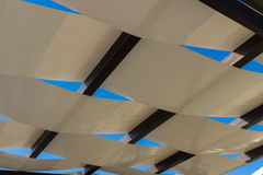 Pergola roof Royalty Free Stock Photography