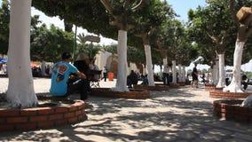 Pergola in the Sousse, Tunisia stock video footage