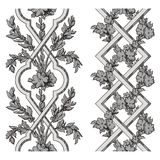 Pergola vector. Vector  illustration of ornate pergola Royalty Free Stock Images
