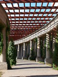 Pergola, Wroclaw, Pologne Photographie stock